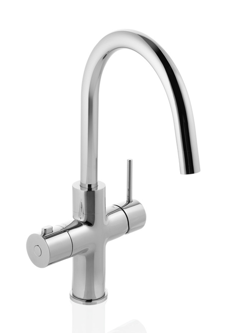 Kokend Water Kraan.Floww Premium3 Rond Chroom Kokend Water Kraan Kopen Incl