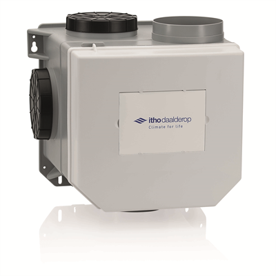 Itho daalderop - Ventilatiebox CVE-S Eco (Woonhuisventilator) - capaciteit: 375 m3/h