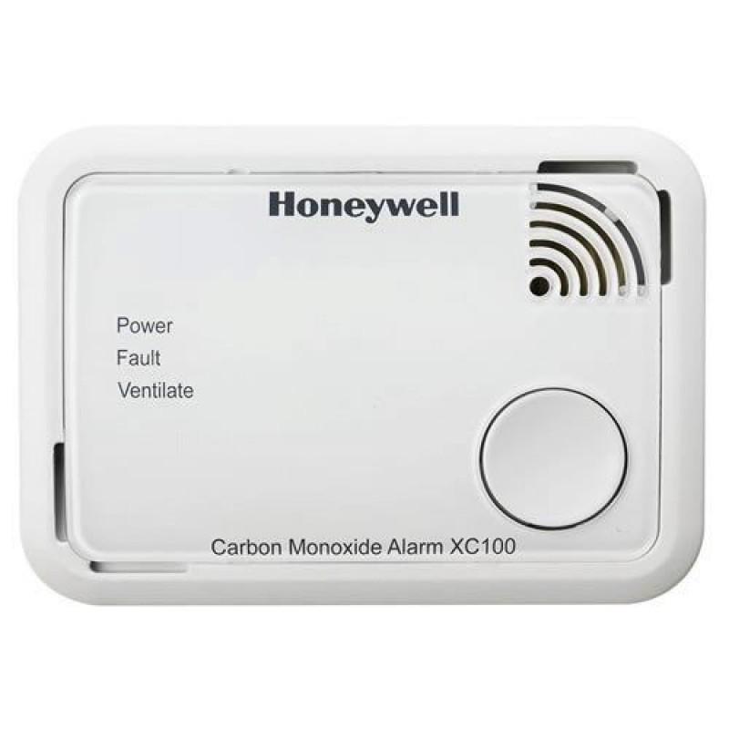 Honeywell koolmonoxidemelder XC100 - levensduur batterij 10 jaar
