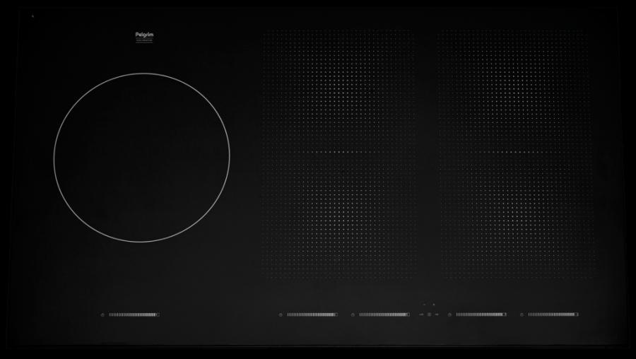 Inductie kookplaat - Pelgrim - 5 kookzones | Inclusief kookgroep meterkast